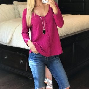 Anthropologie Saturday Sunday Long Sleeve Top